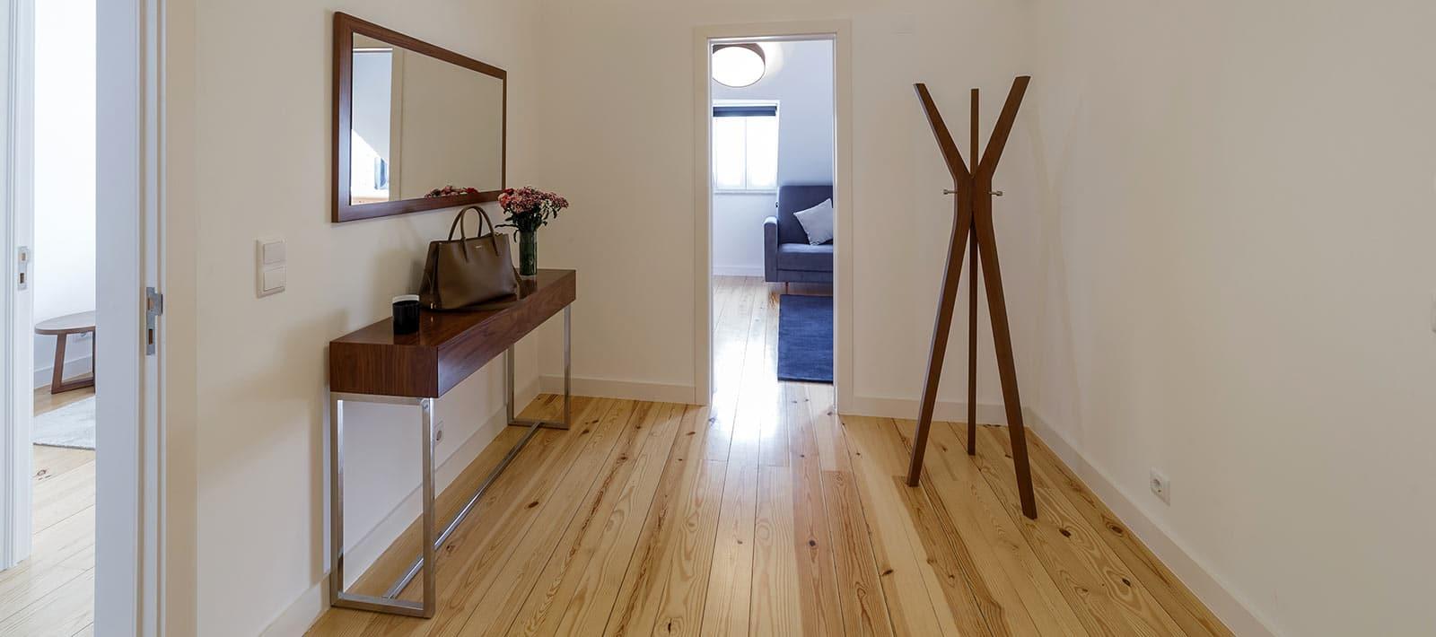hardwood floors in northern virginia home